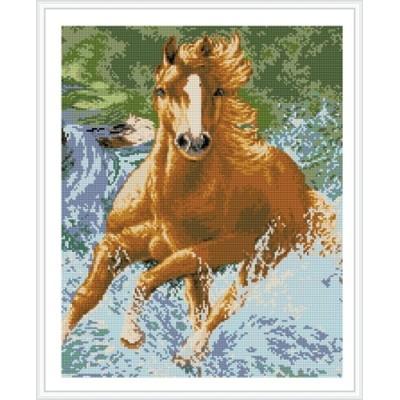 running horse diamond painting GZ344