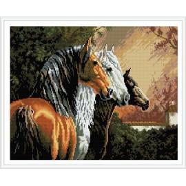 malen Junge pferd foto diy diamant malerei gz349
