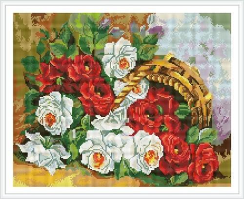 paint boy flower full pattern diamond painting for wall decor GZ348