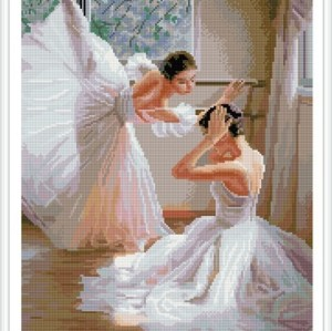 ballerina diy diamond painting for home decor GZ353
