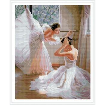 Bailarina pintura diamante bricolaje para la decoración casera GZ353