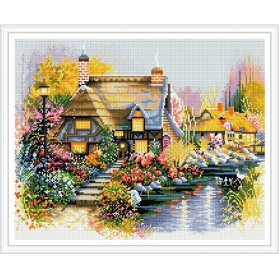GZ440 paintboy framed classical landscape new design 5D diy embroidery diamond painting for room decor