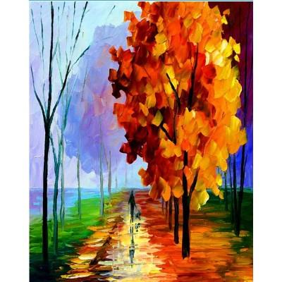 paintboy abstract tree diamond painting GZ374
