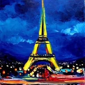 paintboy Eiffel Tower diamond painting GZ375