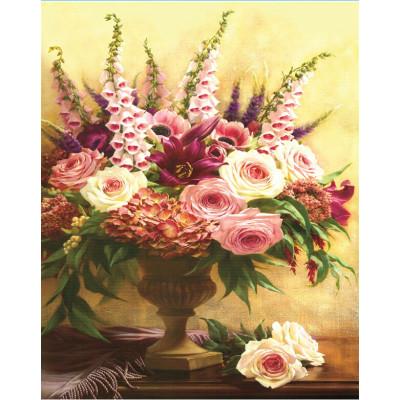 GZ383 flower diy diamond painting kit for living room decor