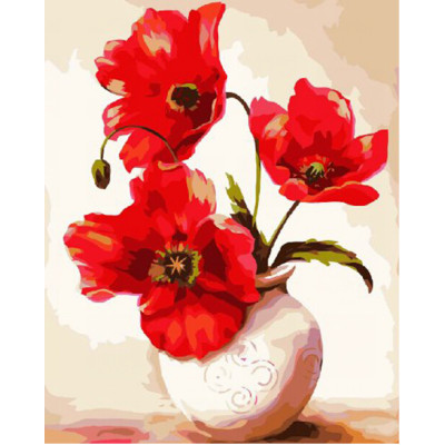 GZ380 flower square diamond painting for home decor