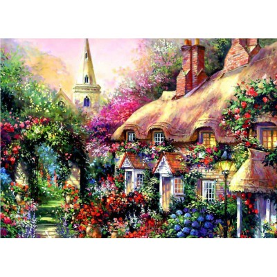 GZ382 warm home diy diamond painting for wall decor