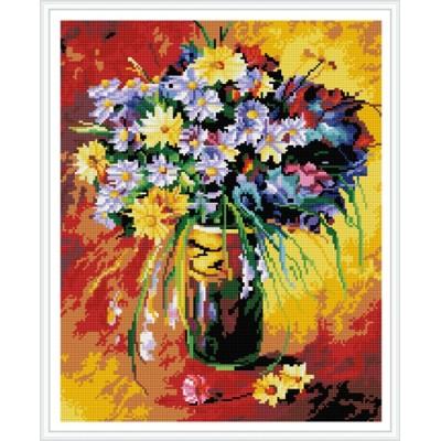 GZ386 paint boy flower diamond mosaic painting for home decor