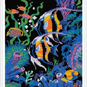 GZ392 fish diy crystal diamond painting for wholesale