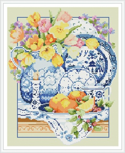 GZ396 5d diamond painting with wooden frame