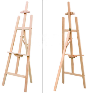Good quality wholesale wood sketch Studio painting easel drawing stand