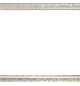 Good quality ZP005+ wholesale white wood photo frame for oil painting