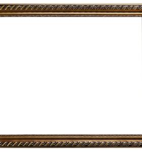Good quality ZP004 wholesale gold wood picture frame for home decor