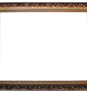 Good quality ZP004+ wholesale gold wood picture frame for home decor