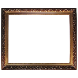 Gute qualität zp004+ großhandel gold holz bilderrahmen für wohnkultur
