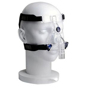 PE and Silicone CPAP Nasal Mask with Headgear for Sleep Apnea Diseases
