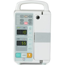 Infusion pump with Simultaneously calibrated to 6 IV sets