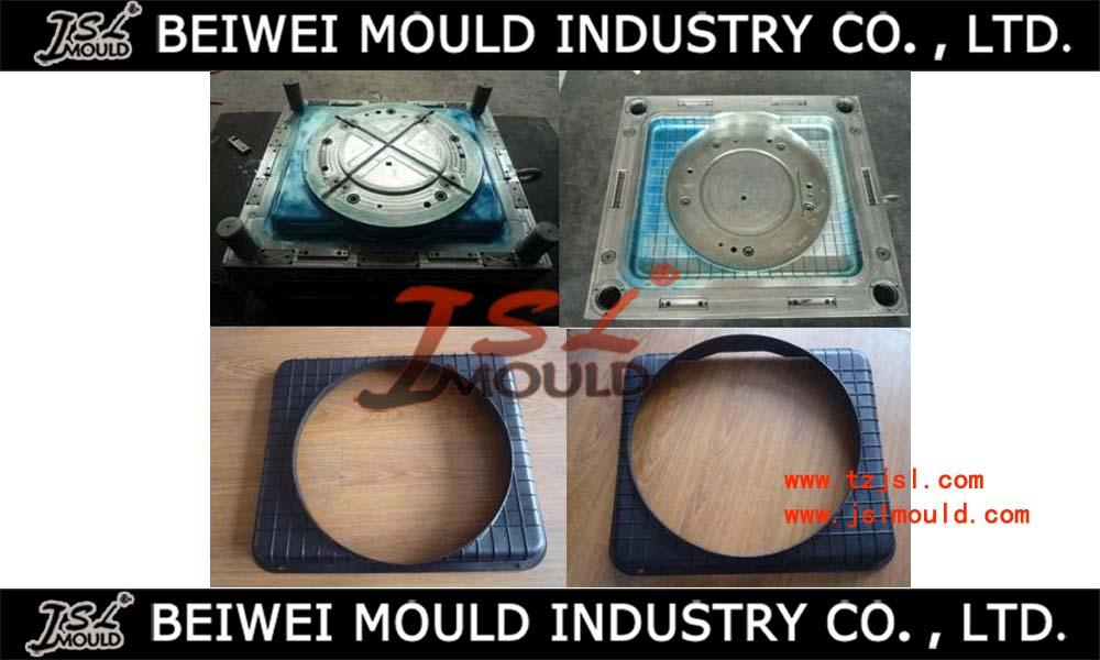 Injection plastic fan cooling radiator shroud mould