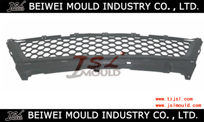 Injection plastic auto front grille mould
