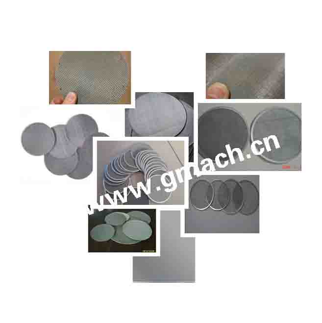 Hot sell plastic recycling extruder filter stainless steel wire mesh