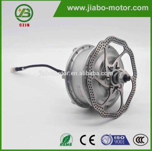 JB-92Q high power 24v dc gear china disc brake hub motor
