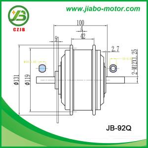 JB-92Q 48V 350W front e-bike wheel hub motor
