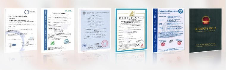 certificate for electric bike motor