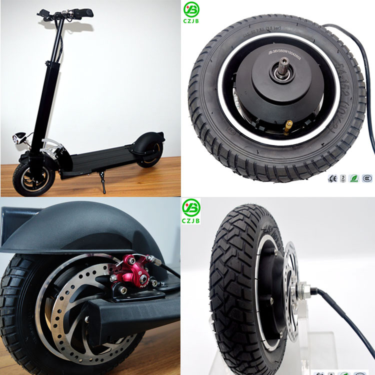 electric scooter wheel hub motor