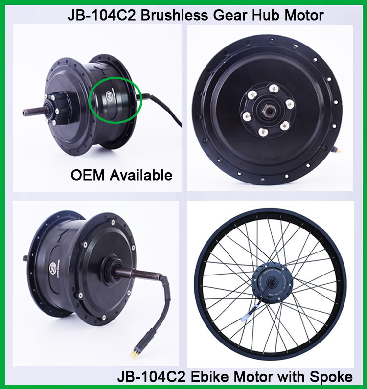 fat bicycle wheel motor