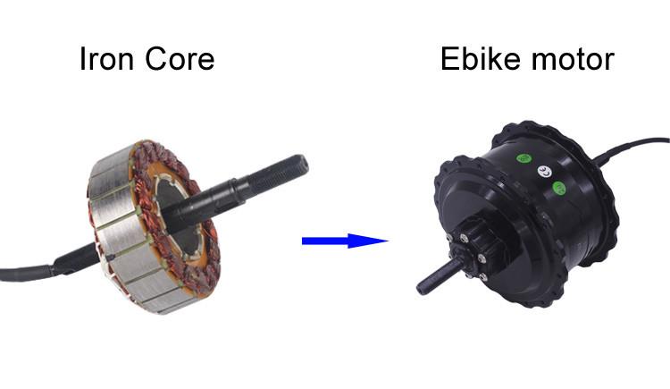 48v 500w electric wheel hub motor
