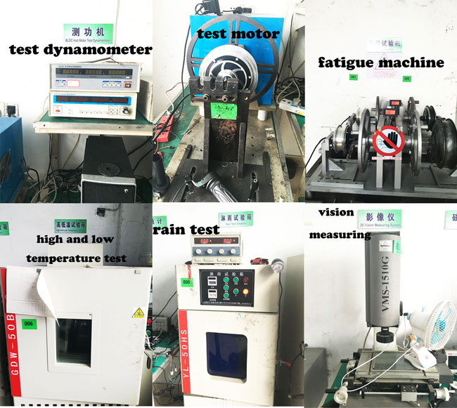 48v 500w brushless spoke motor