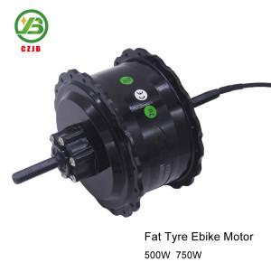 CZJB-104C2 48v 500w Fat Brushless Electric Bicycle bldc Spoke Hub Motor