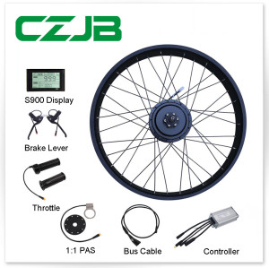 JB-104C2 48v 750w Fat Tyre Electric Bike Conversion Kit