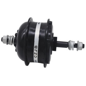 CZJB-75T rear drive geared electric bicycle motor 36V 250W