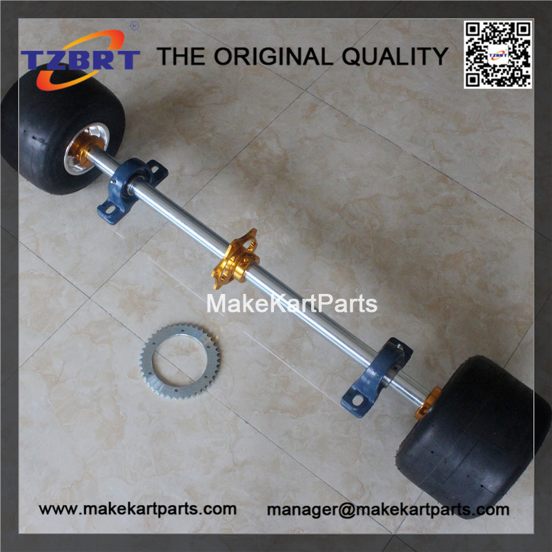 Go Kart Spindle Shaft : Go kart shaft parts solid whole set china axles
