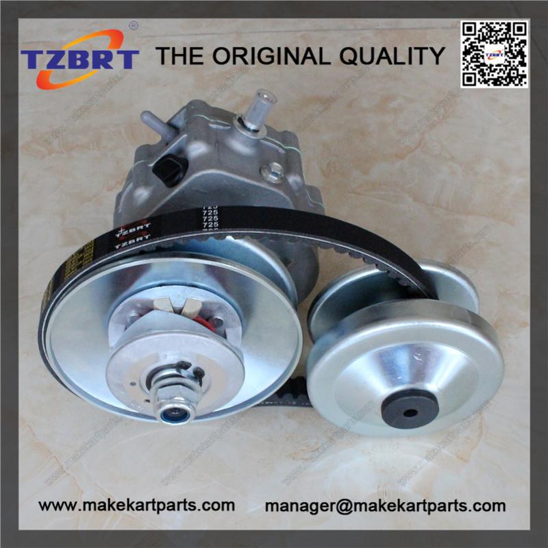 New go kart kit ATV reverse gearbox with torque converter | TZBRT
