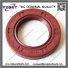 25x41.25x6mm Rubber Rotary Shaft Oil Seal Wine red