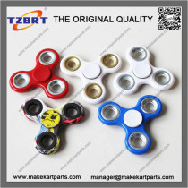 Hand Spinner Tri Fidget Finger Fingertip Gyro Steel Ball Desk Toy Kids Adult