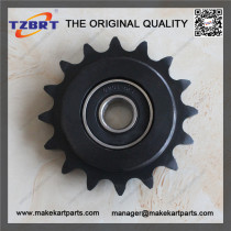 Transmission Parts 16T Sprocket With 6201 2RS Bearing Assembly