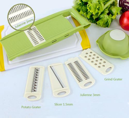 Lekoch Kitchen Mandoline Slicer with four usage