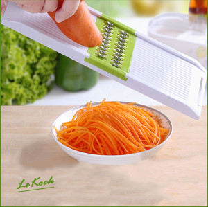 Lekoch Compact Mandoline slicer for shred and slice