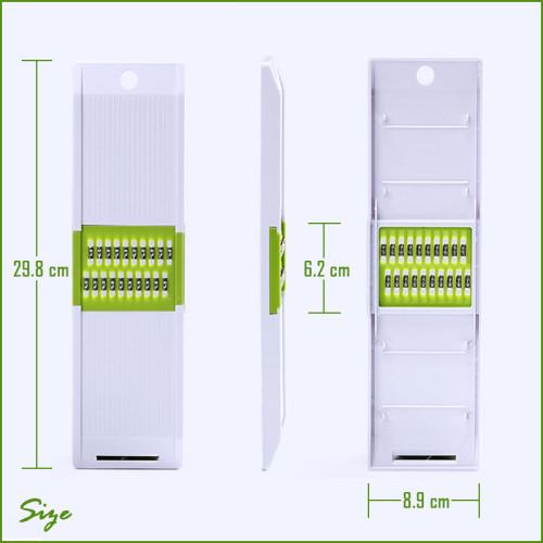 Lekoch Compact Mandoline slicer for shred and slice