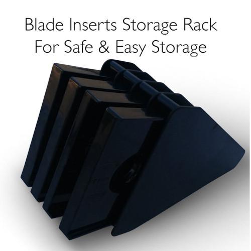 Lekoch 5 V-Blade Mandoline with hand held and blade box