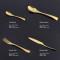 LEKOCH-4PCS Vogue Gold Besteck