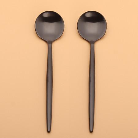 LEKOCH  Black Teaspoon