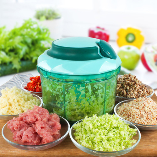 LEKOCH Vegetable Choppers Metal Onion Garlic Chopper Manual Food Chopper Flour Egg Stirrer Cake Tool Gadgets Kitchen Accessories