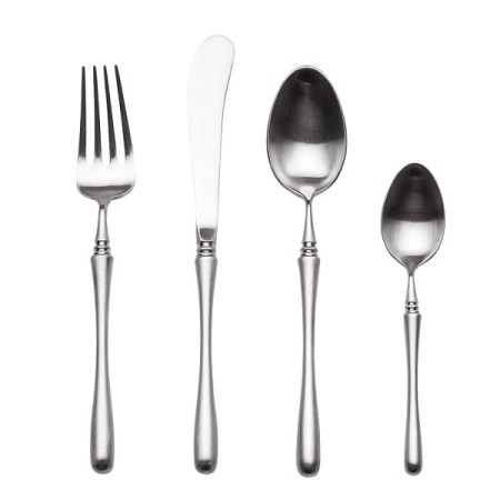 4pcs Luxurious Series Sterling silver Cutlery
