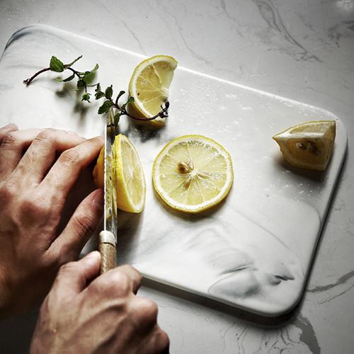 Lekoch Marble Ceramic Tableware Bread Dessert Plate Fruits Plate