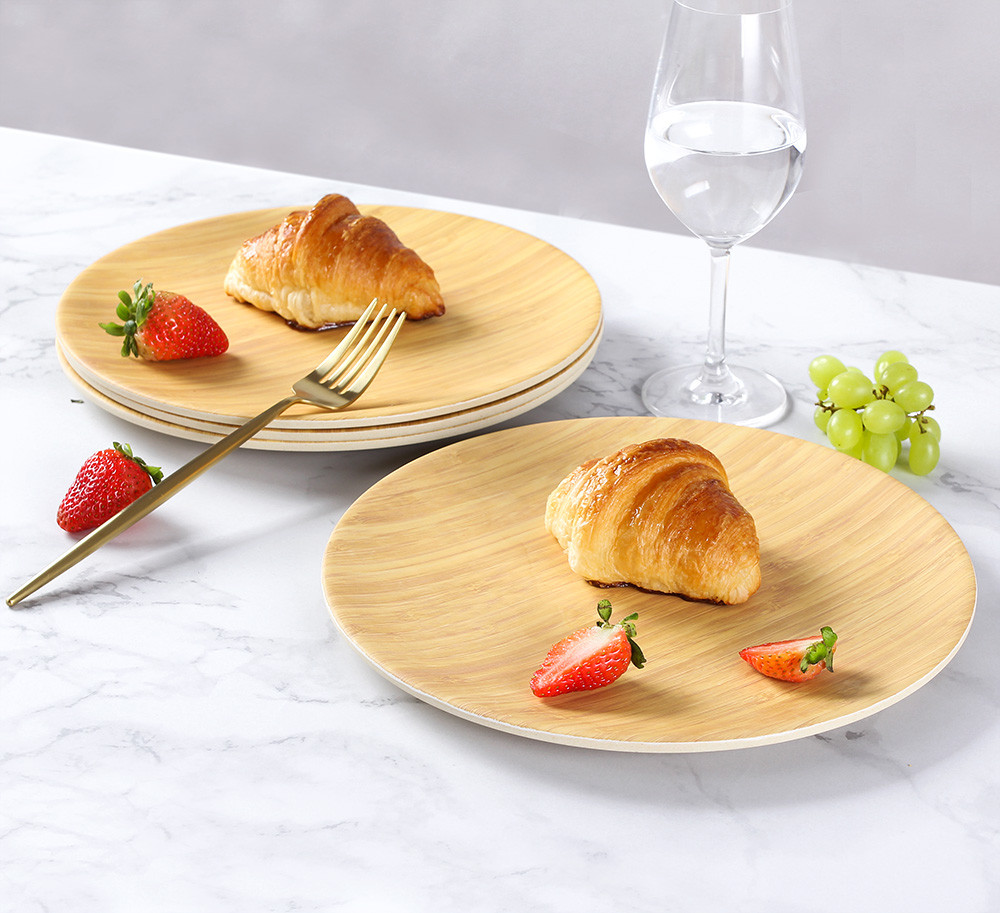 eco-friendly plates set