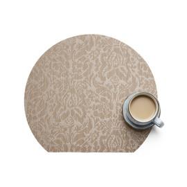 Lekoch 4Pcs Placemat Waterproof PVC Dining Table Mat Bowl Pads Irregular Pattern Design